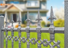 ornamental iron gates wrought iron fence cap with high quality