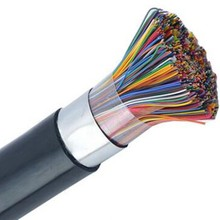 CE, ISO, RoHS Certificated color code telecom copper flat 25 pair cat 6 cable Indoor Telephone Cable / Communication Cable