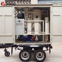 Online Working Double Stage Vacuum Transformer Oil Purification Machine for Sale