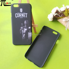 Phone Case manufacturer custom fashion matte black cell phone back cover for Iphone 6
