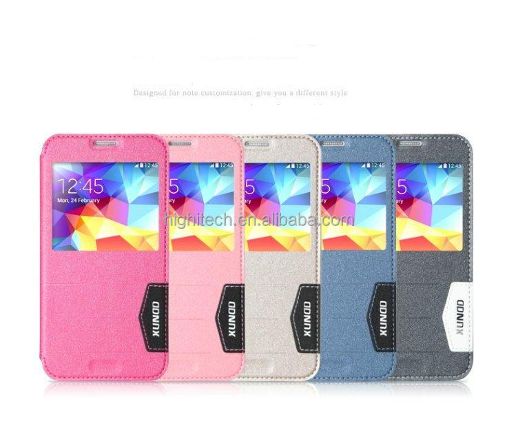 Wallet Smart Wake Flip Leather Cover Case for Samsung Galaxy S5 i9600