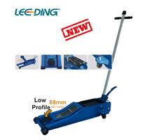 New Hydraulic Long Chassis Floor Jack 2t Low Profile Long trolley jack