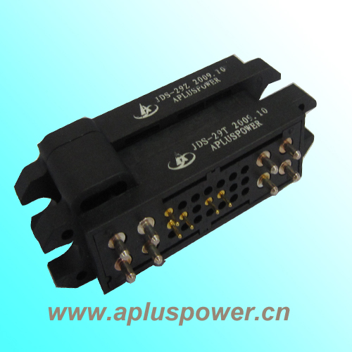 Hi-Quality! 29 pin magnetic electrical pin power connector drawer connectors, UL approval housing, cutomized design accepted