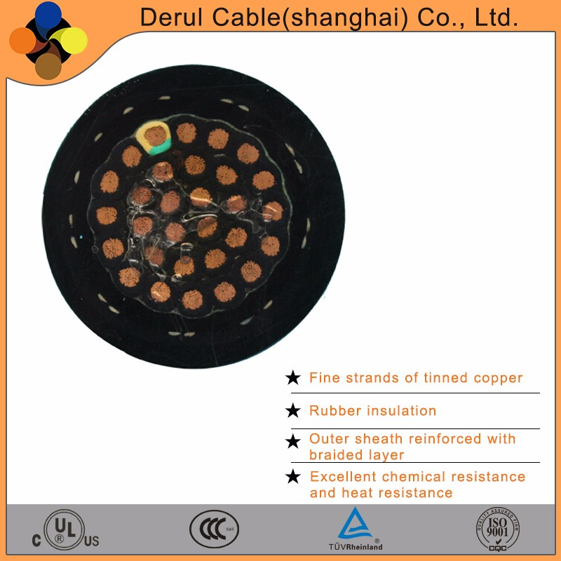High flexible coaxial cable for spreader power cable with best price