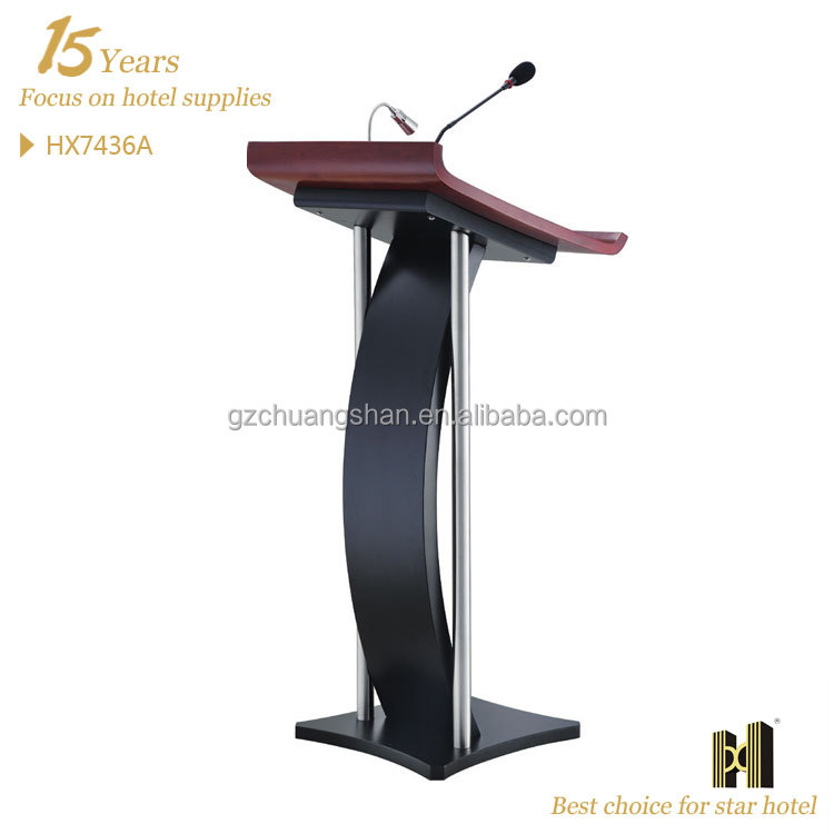 hot sale speech desk wooder lecture podium HX7436A