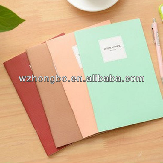 korea stationery A5 cute paper notebook school exercise book notepad