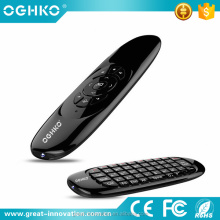 2016 remote contro 2.4G wireless mini keyboard air mouse with voice