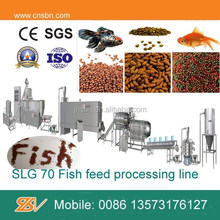 Continuous Automatic aquaculture fish feed processing line