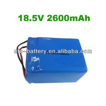 UFO 5s Lipo Battery 18.5v Battery 2600mAh Lithium polymer Battery Rechargeable For Sports Lights