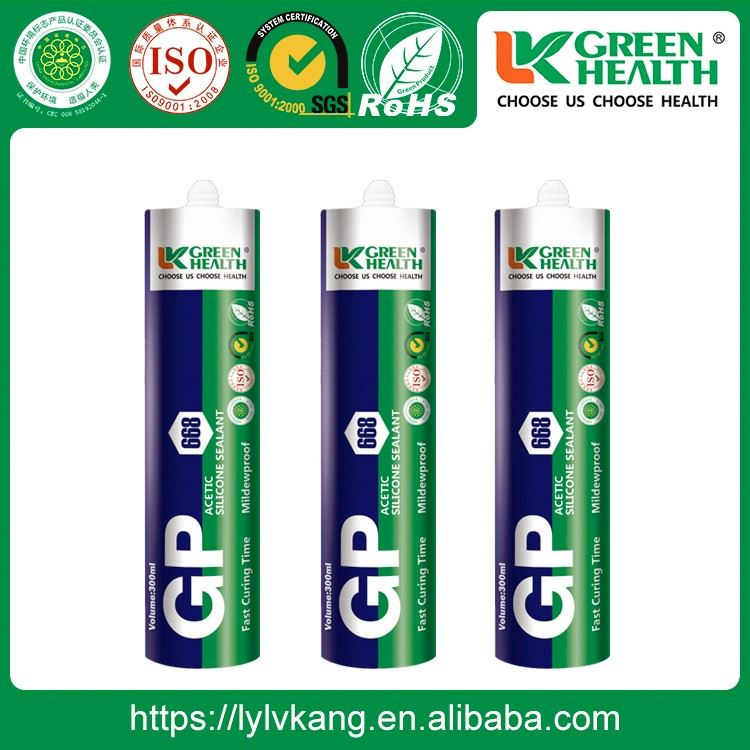 OEM Colored Glass And Aluminum Silicone Sealant