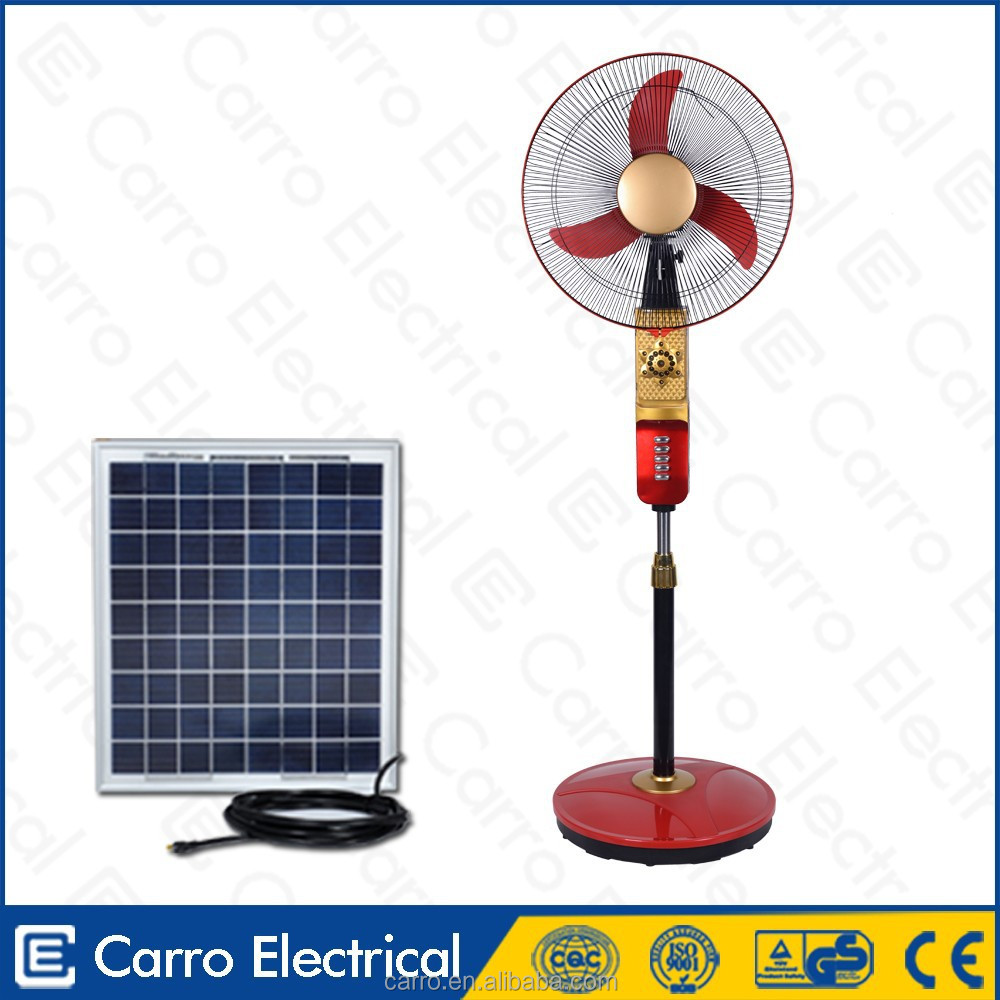 Carro Electrical 16inch 12v 15w solar powered attic fan DC-12V16H2