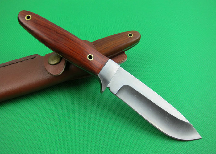 OEM tactical survival knives camping fixed blade knife rescue tool hand 7Cr17Mov 59HRC blade wood handle 1640