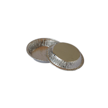 egg tart mould customized aluminum foil container bakery container