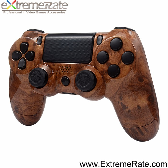 Wholesale price wood shell housing and controller cover for PS4