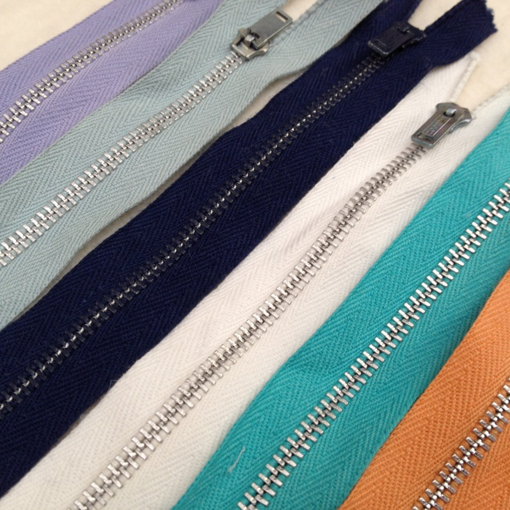 Metal Zippers Sewing Zippers Crafting Zippers Colorful Zippers Vintage Zippers Falcon Zippers #3#4#5#8#10 metal zipper