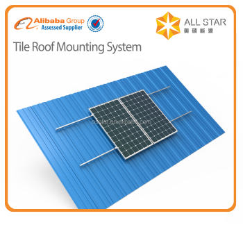 Factory direct sale Allstar brand aluminum solar panel mounting system