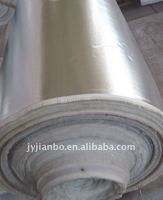 Aluminum foil covered glass fiber cloth,adhesive backed fabric