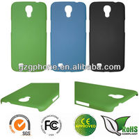 PC phone case for Samsung Galaxy i9200/Galaxy Mega 6.3 case with rubber coating