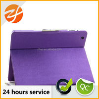 Unique design leather book case for Ipad 2,for ipad 2 3 4 leather case