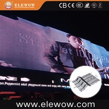 Soft flexible outdoor led rental curtain display p37 led video wall