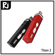 quality chinese products portable temperature control Titan 2 dry herb vaporizer e cigarette