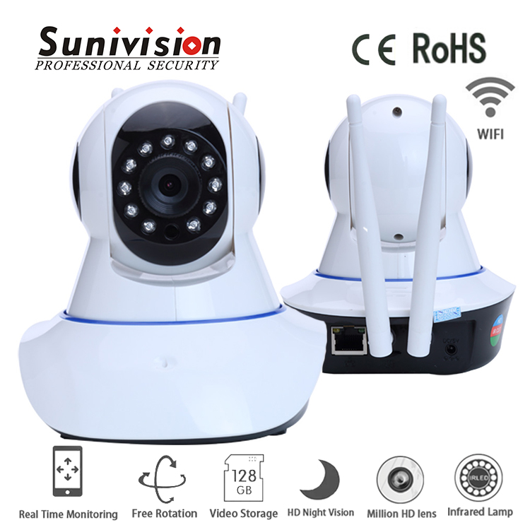 factory supplier 720p record on TF card H.264 outdoor ip network camera poe