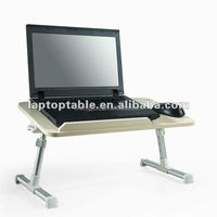 portable folding wooden study desk and bed