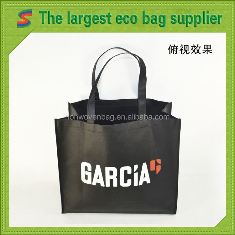 Durable Promotional Nonwoven Shopping Bag Pp Non Woven Folding Shopping Bags