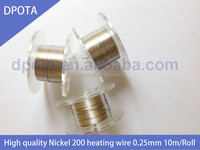 99.5% high purity nickel wire coiling best price for vaporizer