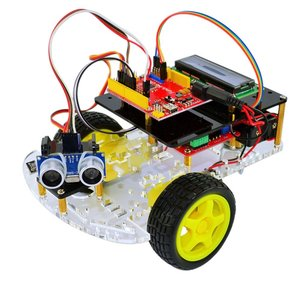 UNO Car Kit is based on an Ultrasonic Ranging Robot Smart Car Made In China