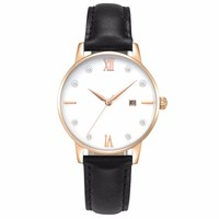 bell and rose quartz watches ladies fancy stainless steel wrist watch with Japan mvmt