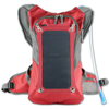 Outdoor Sport Backpack Waterproof Camping Hiking Bicycle Hydration Polyester Solar Backpack Bag With Solar Panel Charger