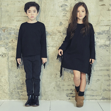 PHB30653 girls fashion fall winter new different types of dress