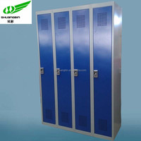 4 door high quality storage steel locker /Fingerprint lock locker cabinet