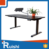 Sit And Stand Height Adjustable Office Electric Table