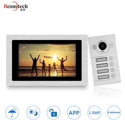 Promotion Gifts Multi-apartment 1.0MP TCP/IP Video Intercom System for Apartment Building