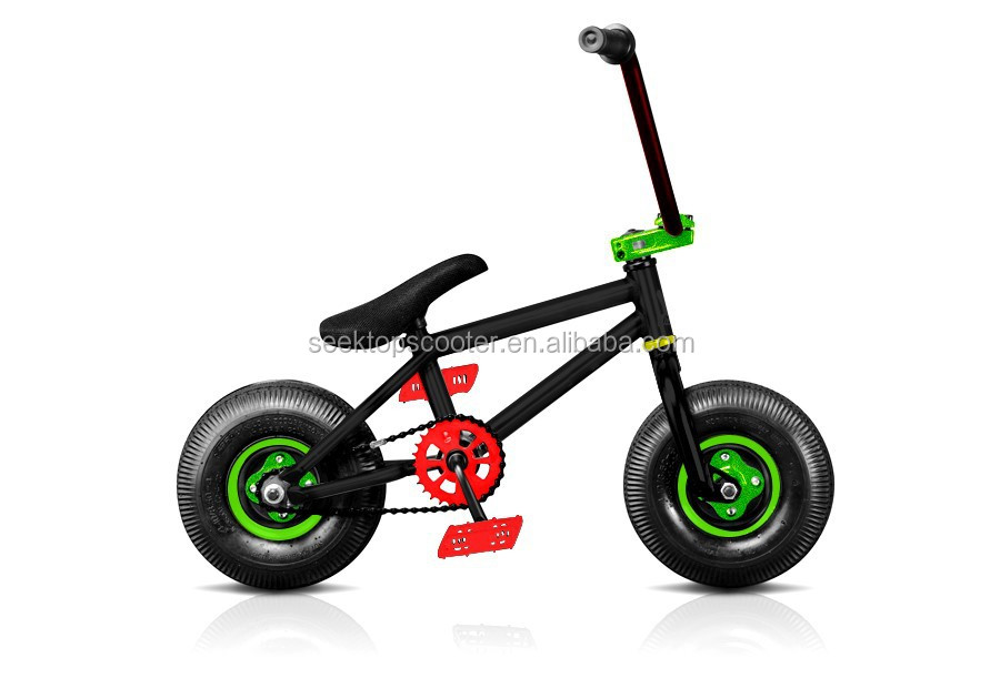 Fatboy 10inch downhill racing mini bmx street bike with 3pcs crank for sale