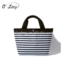 Cheap wholesale small size cute canvas tote bags with custom printed logo