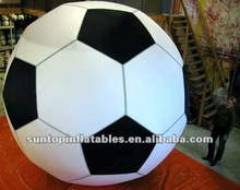 huge 4m inflatable soccer helium balloon for advertising