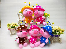 Factory Price 20cm Pig Plush Toys Soft stuffy plush toys new christmas dolls