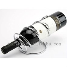 China supplier metal antique wine bottle novelty wine holder for cheap