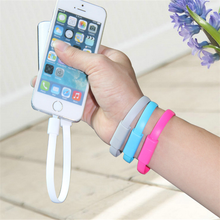 Fashion wearable USB data charging bracelet cable for Micro USB