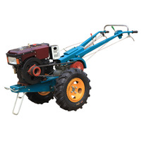 QLN 12 HP hand operated walking tractor in Bangladesh