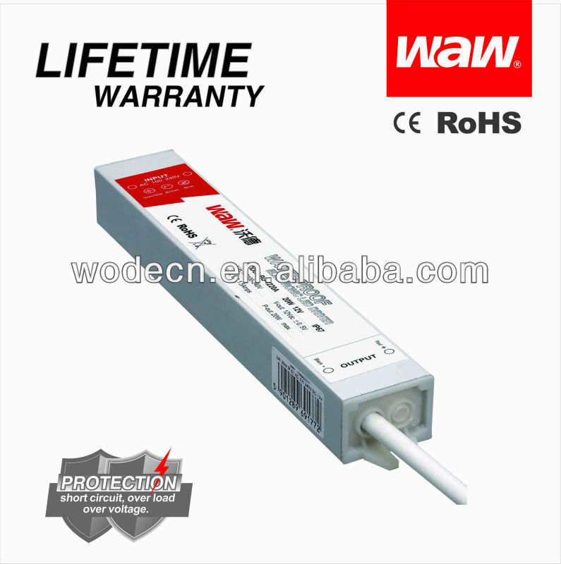 20w 24v 0.83a outdoor LED transformer with CE ROHS(BG-20-24)