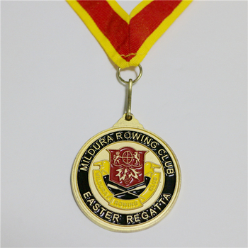 Sonier-pin lanyards for medals manufacture of gold medallion with sport logo