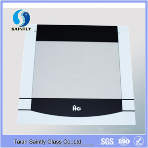 4mm 5mm toughened safety glass for kitchen with silk screen printing