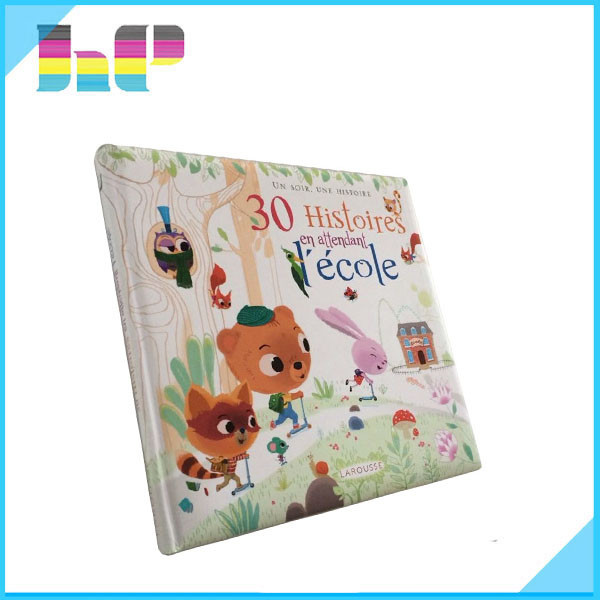 Board book printing child book print hard cover english story book printing