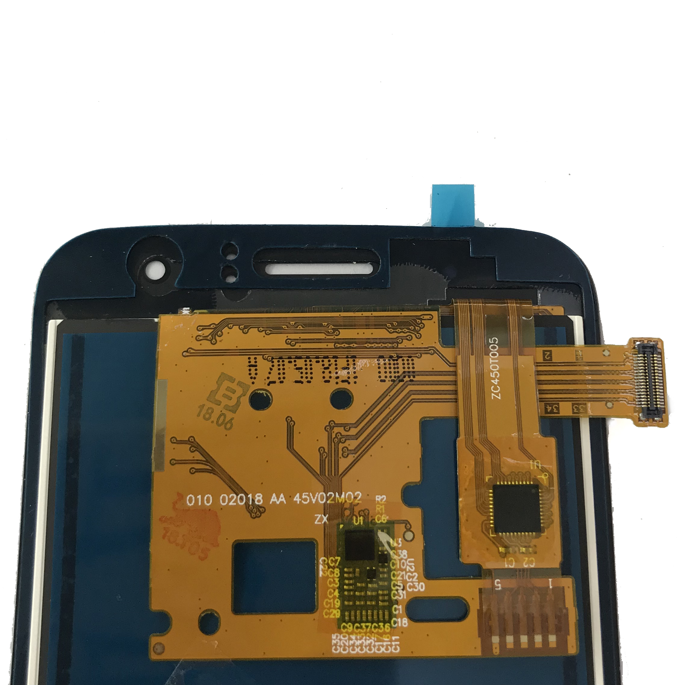 visualizacion LCD de repuesto digitalizador de visualizacion tactil LCD de repuesto for for Samsung Galaxy <strong>J120</strong> lcd