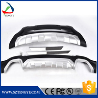 vacuum forming abs plastic car front lips side skirt of body kits