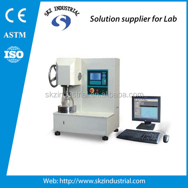 fabric diaphragm bursting strength astm d3786 bursting strength tester